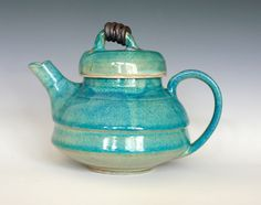 Ceramic Teapot | KaziMoto Teapot Handmade Ceramic Teapot by ocpottery on Etsy
