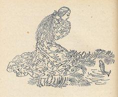 Illustrated by Milada Marešová. Prague 1953.