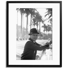 Frank Sinatra in LA by John Bryson 8/11/1969
