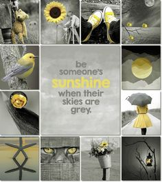 """I keep hearing all these stupid things that I said with my stupid mouth."" - Joanie by Silversage Inspiration Wand, Color Inspiration, Mood Colors, Happy Colors, Collages, Color Collage, Beautiful Collage, Colour Board, Shades Of Yellow"