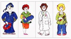 Z internetu - Sisa Stipa - Webové albumy programu Picasa Community Workers, Community Helpers, Stipa, Ronald Mcdonald, Preschool, Clip Art, Kids, Fictional Characters, Worksheets