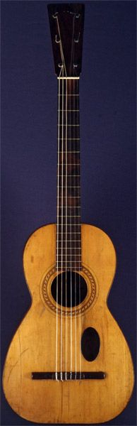 Early Musical Instruments, antique Romantic Guitar by Antonio Lorca dated 1836 Banjo, Ukulele, Old Music, New Inventions, Guitar Design, Vintage Guitars, Cool Guitar, Musical Instruments, Baroque