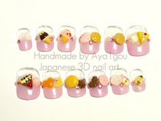 Fairy kei round short kawaii pastel colored sweets