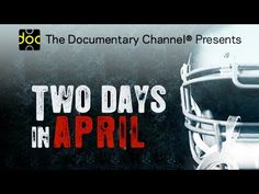 Two Days in April - PART 1  - FULL MOVIE - Watch Free Full Movies Online: click and SUBSCRIBE Anton Pictures  FULL MOVIE LIST: www.YouTube.com/AntonPictures - George Anton -   TWO DAYS IN APRIL is a 90-minute documentary about the NFL draft seen through the eyes of four star college athletes. With never-before-seen access to the draft process, viewers travel with the players as they navigate the intense training and nerve-wracking emotions of a rigorous training camp, the 20