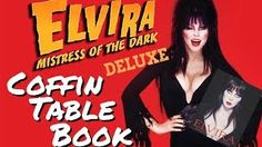 Elvira Mistress Of The Dark Coffin Table Book Deluxe Edition | The Queen Of Halloween: HorrorGal Elvira Mistress Of… More at hauntersweb.com