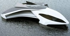 """Hydrogen-Powered """"Flying Yacht"""" Based On the Ekranoplan by Jaron Dickson"""
