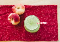 Donut Peach Green Juice   So...Let's Hang Out