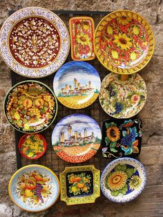 I am so bringing back some Italian pottery when we go to Italy!