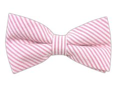 Seersucker - Pink (Cotton Bow Ties)   Ties, Bow Ties, and Pocket Squares   The Tie Bar
