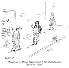 Today's daily cartoon by David Sipress.
