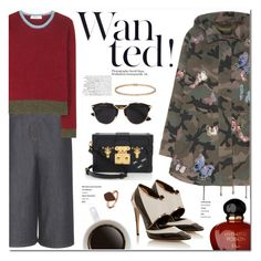 """""""Wanted!!"""" by stellaasteria ❤ liked on Polyvore featuring Prabal Gurung, Valentino, Louis Vuitton, Christian Dior, H.AZEEM, Cartier, women's clothing, women's fashion, women and female"""