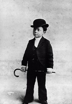 """A young Buster Keaton - so talented and precocious that he was rumoured to be a """"clever midget""""."""