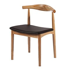 Wegner Style Dining Chair, Natural