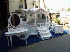 Cinderella Bed - Pumpkin Carriage Bed