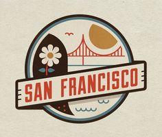 Cool vintage logo for San Francisco