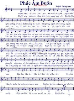 Phúc Âm Buồn - Music Sheet