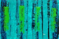 Cacouac chirohirsute - Arylique sur papier - 65x50 cm © Anne Iris Caillette