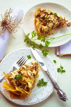 Aromatic & Spice Moroccan Chicken & Wild Rice Pie!