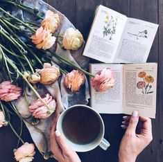 Relaxing, reading and Ranunculus Photo via Anthropology Home, A Moveable Feast, California Living, Natural Curiosities, Buy Kitchen, Kitchen Tools, Linked In Profile, Summer Aesthetic, Coffee Love