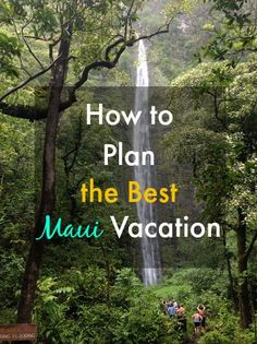 I used to live on Maui...click through to read my tips for a perfect Maui vacation!