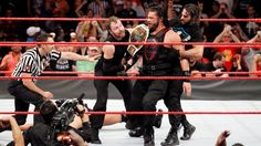 Reigns is the new Intercontinental Champion!