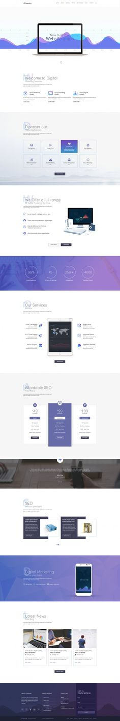 Searchly – Multipage Seo Template