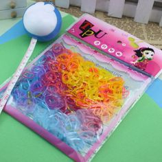 400-500 Pcs/bag Rubber Hairband Rope Ponytail Holder Elastic Hair Band Ties Braids Plaits Hair Accessories For Girls Kids