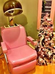 a little salon like this will not intimidate him--too much