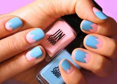 DIY Tutorial: Easter Egg Nails   Spring into pastels with these two adorable Easter egg nail art looks!