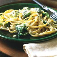 Fettuccine with Gorgonzola and Broccoli  - Delish.com