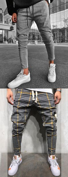 s Fashion Houndstooth Slim Cropped Pants Men&;s Fashion Houndstooth Slim Cropped Pants Michael Tost michaeltost Style [ SHOP NOW ] Men&;s fashion casual pants for you. Fashion Pants, Latest Fashion Clothes, Mens Fashion, Boy Fashion, Fashion Outfits, Mode Masculine, Casual Pants, Men Casual, Plaid Pants