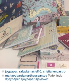 O sonho de qualquer menina é um mundo cheio de papel de carta! Joy Paper Papelaria