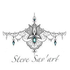 scripture tattoos for women classy - scripture tattoos for . - scripture tattoos for women classy - scripture tattoos for women classy - - Sternum Tattoo Design, Gem Tattoo, Jewel Tattoo, Lace Tattoo, Henna Tattoo Designs, Mandala Sternum Tattoo, Neue Tattoos, Body Art Tattoos, Girl Tattoos