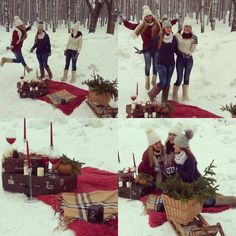 Best friends,fun winter Decor&love studio