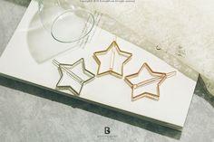 Bonny & Read 平價飾品 - 鋸齒的星星髮夾 / 3色  NT.102
