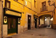 Chocolate Shop, Madrid, Spain