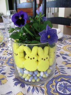 Fun centerpiece for Easter