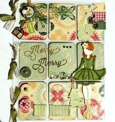 Merry Christmas Pocket Letter by Jackie Benedict