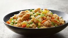 Easy Chinese Chicken Fried Rice for Two Rice Recipes, Asian Recipes, Cooking Recipes, Copycat Recipes, Recipies, Easy Dinner Recipes, Easy Meals, Dinner Ideas, Arroz Frito