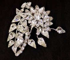 Hey, I found this really awesome Etsy listing at https://www.etsy.com/listing/205745272/vintage-clear-rhinestone-original-by