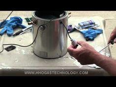 2 of 2 Gasoline Ultrasonic Vapor Carburetor Final Assembly - Adding Epoxy - YouTube