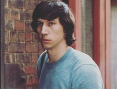 Cute Adam Driver. He's got a highly distinctive look and he's confident in his own skin. Very attractive qualities in a person.
