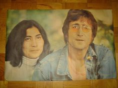 The Beatles John Lennon Yoko Ono 1971 Posterby Rex Features Printed in England If your looking for something special this holiday season for the person who has everything or is impossible to shop for, one of my 250 plus items might make the perfect gift! If you don't see what you are looking for, please do hesitate to ask!