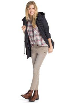 Esprit : Desenfadada blusa a cuadros en la Online-Shop