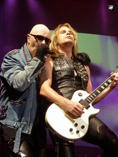 Judas Priest - Rob Halford and Richie Faulkner