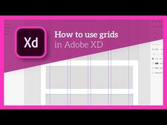 In this tip tutorial I'll show you how to use the grid tool in Adobe XD. The grid tool is really helpful because it allows you to set up highly customisable . Ui Animation, Animation Tutorial, Graphic Design Tips, Ui Ux Design, Grid Tool, Good Tutorials, Adobe Xd, Adobe Indesign, Web Design Inspiration