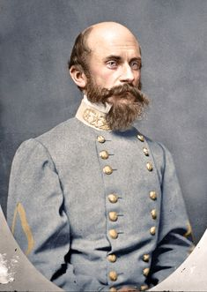 Lt. General Richard S. Ewell, C.S.A., fought under Stonewall Jackson and Robert E. Lee during the American Civil War - ca. 1865