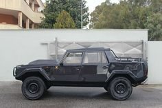 Lamborghini LM 002. Only production Lambo 4x4 ever made. Years before Hummer.