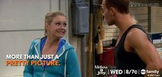 More than just a pretty picture! #MelissaAndJoey