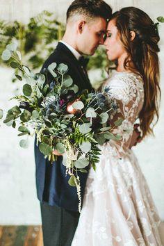 Copper Fruit Wedding Inspiration - photo by Giving Tree Photography http://ruffledblog.com/copper-fruit-wedding-inspiration | Ruffled